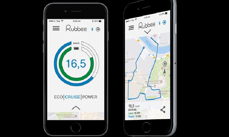 Analyses avancés sur smartphone de ce kit vélo électrique
